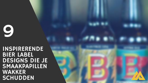 Bier label design