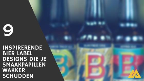 Bier label design