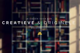 18 ideeën voor een super creatieve & originele boekenkast