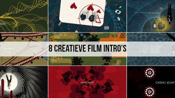 8 Creatieve film intro's