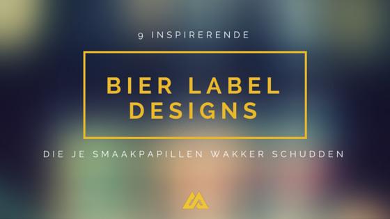 9 Inspirerende bier label designs die je smaakpapillen wakker schudden